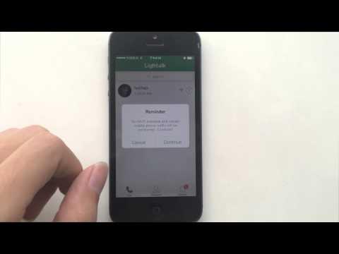 How To Use Lightalk App To Make Free Calls?