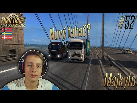 [60 FPS] Euro Truck Simulator 2 ► Let's Play Česky #52 ► Stockholm → Odense ► Majkyto