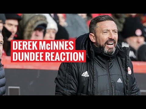 Aberdeen 1-0 Dundee | The manager's reaction