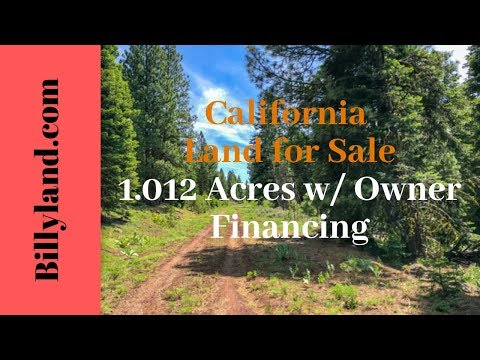 Cheap California Land For Sale 1.012 Acres, Modoc County, Owner Financing