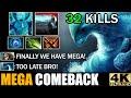 Intense Hard Carry Battle Full Agility Build Morphling VS Slark - Epic Mega Comback  7.30 Dota 2