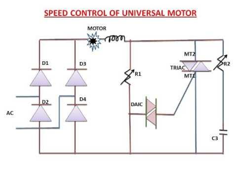 Single Phase Induction Motor Adjustable Speed Control