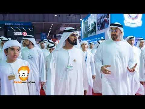 HH Sheikh Mohammed Bin Rashid HH Sheikh Mohammed Bin Zayed At Dubai Air Show