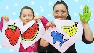 ÖYKÜ İle Aktivite Educational Activities. Fun Kids Videos , Finger Paints