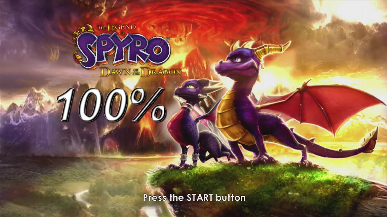 The Legend Of Spyro Dawn Of The Dragon 100 Speedrun In 2 14 48