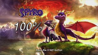The Legend of Spyro: Dawn of the Dragon 100% Speedrun in 2:14:48