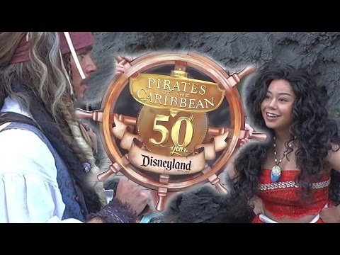 Pirates of the Caribbean 50th anniversary celebration at Disneyland