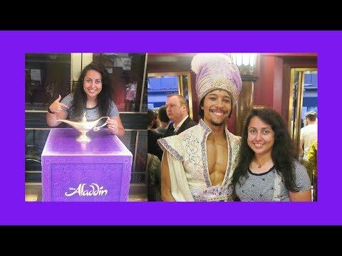 Aladdin The Musical (London) - Vlog 2017