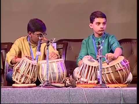 Indian Classical Music @ Global Investors Meet 2012 (Karnataka) by Satish Hampiholi Team