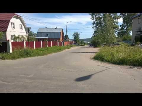 Самая высокая точка Ленинградской области - на вершине улицы Советская в Подпорожье - 4 ч из 9