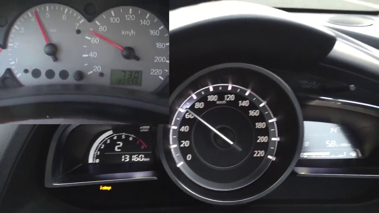 2015 mazda 2 1 5 skyactiv g 90hp vs 2000 ford focus 1 8 tddi 90hp 0 100km h