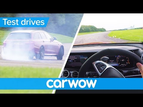 Mercedes-AMG E63 S POV review - with shock tyre failure   Test Drives