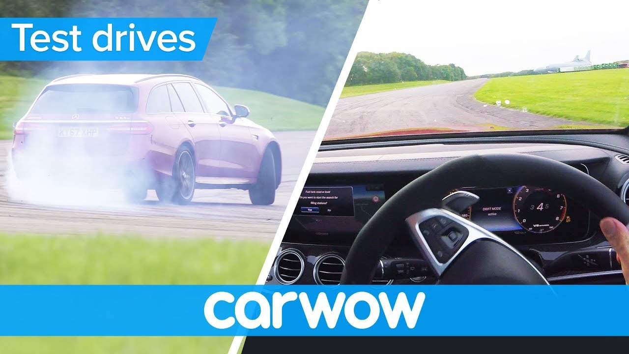Mercedes-AMG E63 S Estate POV review - with shock tyre failure | Test Drives
