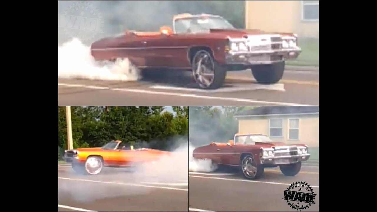 Rob Doing Donuts in His 72 Donk Vert on 28