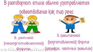 Разговорный стиль речи - стилевые черты и языковые средства