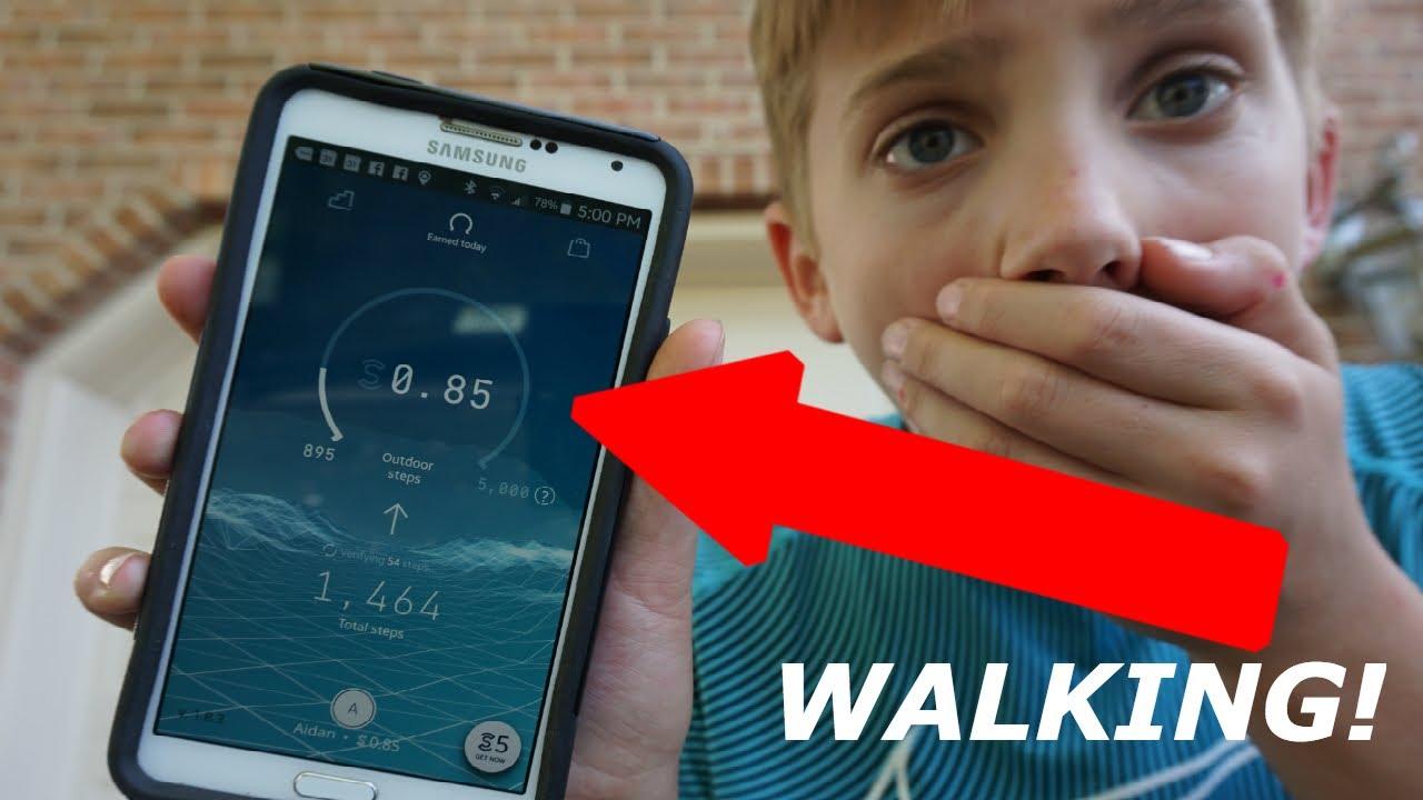 MAKE MONEY TO WALK!!? - (