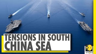 US navy sends two aircraft carriers to South China Sea   WION News The United States has sent two aircraft carriers into the South China Sea at the same time as China is conducting military exercises in the contested waterway.