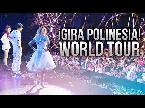 GIRA POLINESIA WORLD TOUR | LOS POLINESIOS VLOGS
