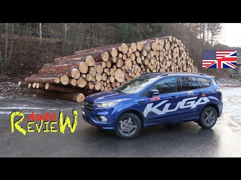 2017 FORD Kuga ST-Line 2.0 TDCi 4WD - AutoReview - Switzerland (Episode 58) [ENG]