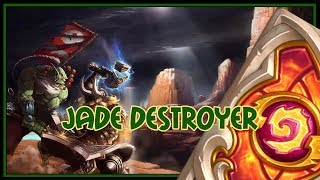 Hearthstone: Jade destroyer (combo priest)