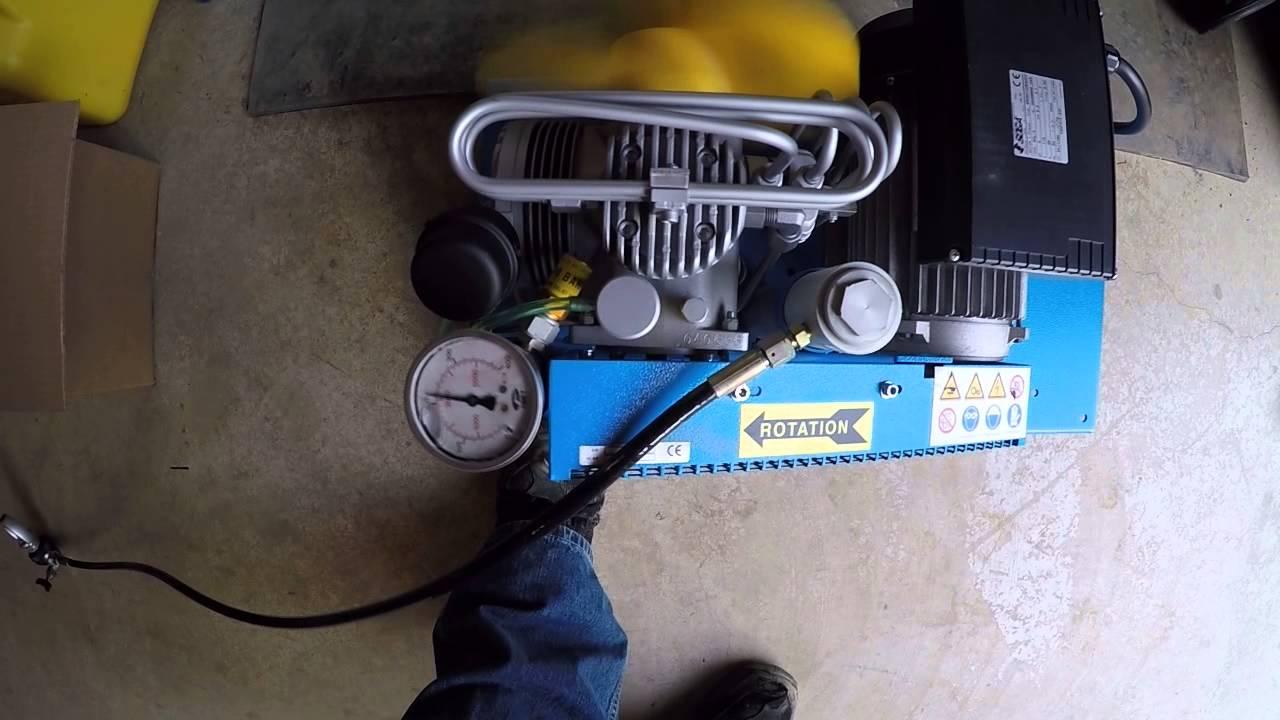 Coltri compressor running 5-6-15