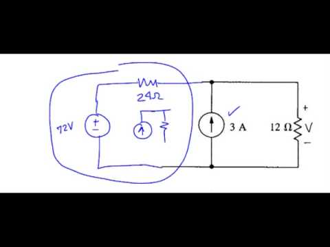 dc: Source Transformations Example #1