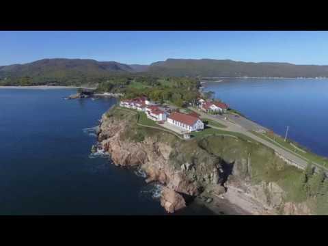 Keltic Lodge Aerial