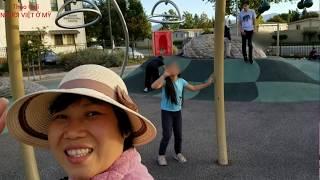 Người Việt ở Mỹ, dạo chơi ở công viên gần nhà