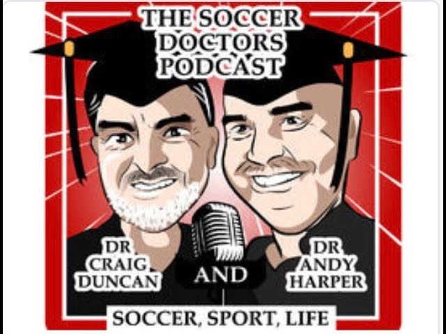 The Soccer Doctors Podcast #14:  Interview with Professor Andy Markovits