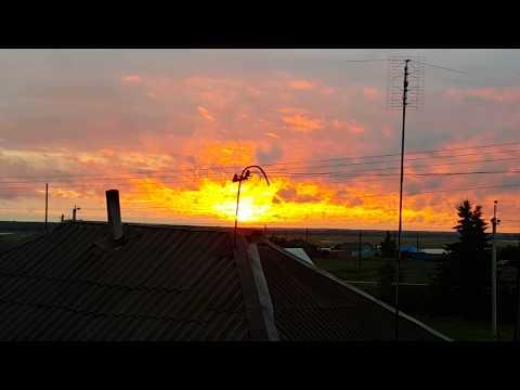 Закат солнца !!)))) Необычно!!))
