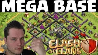 MEGA BASE || CLASH OF CLANS || Let's Play Clash of Clans [Deutsch/German HD]