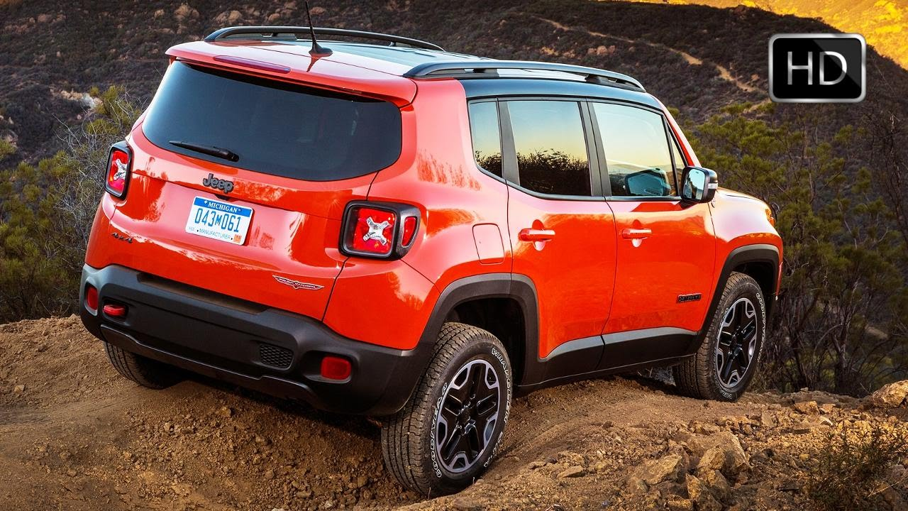 2015 jeep renegade 4x4 capable suv off road hd youtube. Black Bedroom Furniture Sets. Home Design Ideas