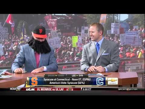 Brian Wilson on GameDay