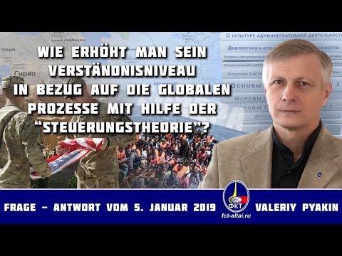 Migranten und Pläne für Europa / Grüne und Atomkraft / USA in Afghanistan (Valeriy Pyakin 5.1.2019)
