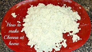 How to make chenna at home