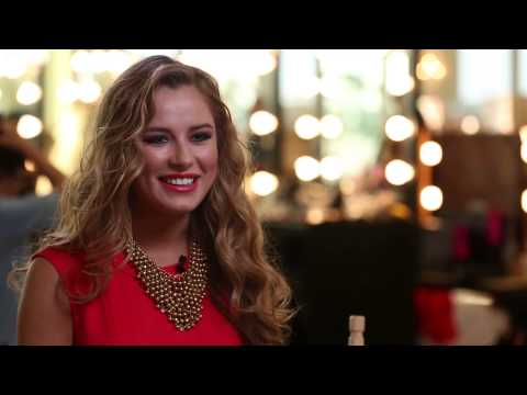 Ukraine - Diana Harkusha [OFFICIAL MISS UNIVERSE INTERVIEW]