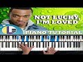 Not Lucky, I'm Loved Jonathan McReynolds Chords
