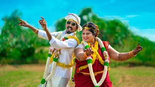 Pongal Special FUN Guaranteed | Vijay TV KPY Sarath & Kiruthika Wedding Film | ISWARYA PHOTOS™