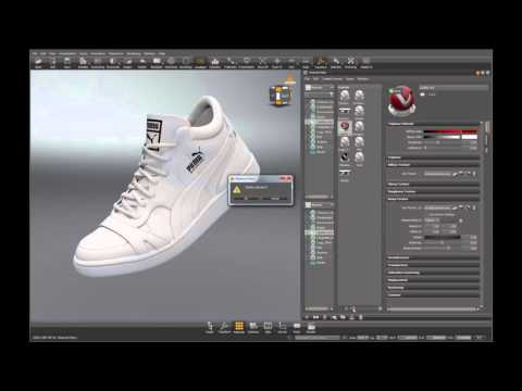 3D Footwear Visualization  Autodesk Vred