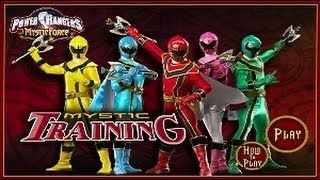 POWER RANGERS MYSTİC FORCE - MYSTİC TRAİNİNG ᴴᴰ-- POWER RANGER GAME