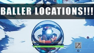 Fortnite Baller locations - Where to find the Baller