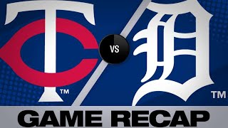 6/7/19: Twins pull away late in 6-3 win over Tigers