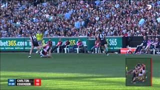 Round 23 AFL - Carlton vs Essendon Highlights
