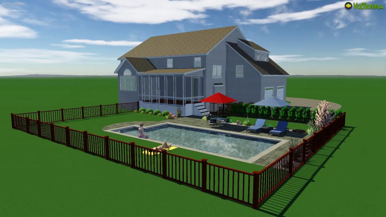jon wi- 3d swimming pool design software - youtube