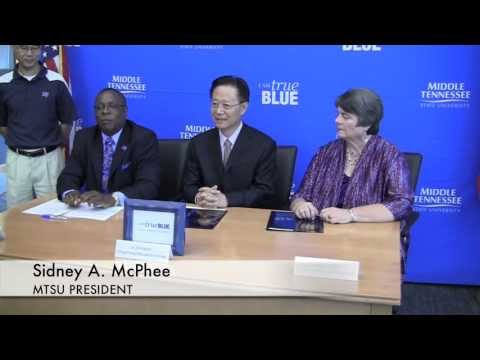 MTSU, Murfreesboro schools forge ties with Chinese education group