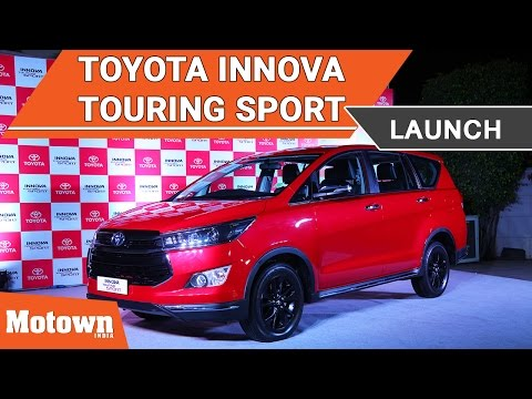 Toyota Innova Touring Sport launched