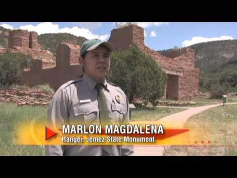 Travel Guide New Mexico tm, Jemez State Monument  Mountain Trail