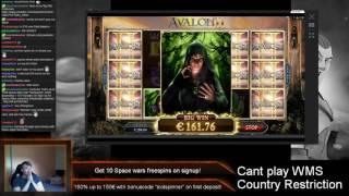 Microgaming Avalon II - MEGA HUGE BIG WIN !!