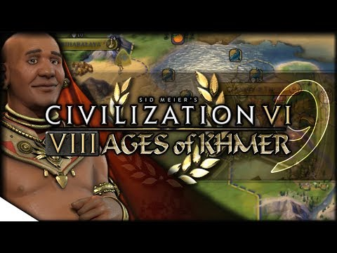Khmer Adopts Monarchy, Moves to Liberate Kabul | Civilization VI — 8 Ages of Khmer 9 | Terra Emperor