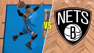 CAN RUSSELL WESTBROOK BEAT THE WORST NBA TEAM BY HIMSELF? NBA 2K17!